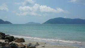 Mooi strand van Con Dao, Vietnam stock footage