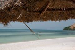 Mooi strand in Vietnam Royalty-vrije Stock Fotografie