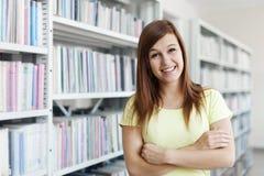 Mooi studentenmeisje Stock Foto's