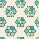 Mooi textielpatroon, naadloze Vector Stock Fotografie