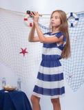 Mooi tienermeisje royalty-vrije stock foto's