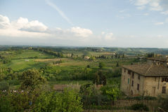 Mooi Toscanië Stock Afbeelding