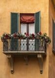 Mooi traditioneel balkon Royalty-vrije Stock Foto