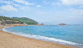 Mooi tropisch strand Royalty-vrije Stock Foto's