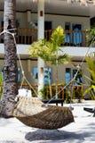 Mooi tropisch strand in Filippijnen stock afbeelding