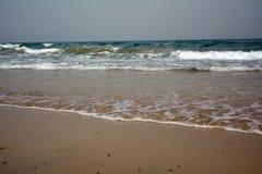Mooi tropisch strand op paradijseiland Canarische Eilanden Fuerteventura Spanje stock fotografie