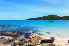 Mooi tropisch zeegezicht Royalty-vrije Stock Fotografie