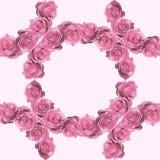 Mooi uitstekend naadloos patroon met rozen stock foto's