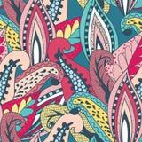 Mooi uitstekend patroon Stock Afbeelding