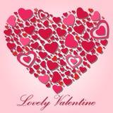 Mooi Valentine Royalty-vrije Stock Foto