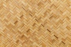 De textuur en de achtergrond van het bamboe Stock Fotografie