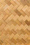 De textuur en de achtergrond van het bamboe Royalty-vrije Stock Afbeeldingen
