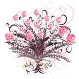 Mooi vector bloemenontwerp royalty-vrije illustratie