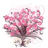Mooi vectorbloemontwerp royalty-vrije illustratie