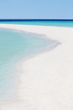 Mooi Verlaten Tropisch Strand Royalty-vrije Stock Foto's