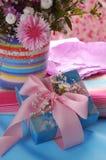Mooi violet Boeket Royalty-vrije Stock Foto