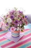 Mooi violet Boeket Royalty-vrije Stock Fotografie