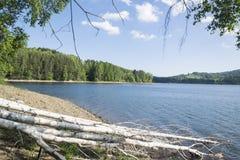 Mooi Vlasina-Meer Servië in de zomer Royalty-vrije Stock Foto's