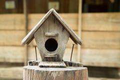 Mooi vogelhuis Royalty-vrije Stock Foto