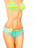 Mooi vrouwelijk lichaam Stock Foto