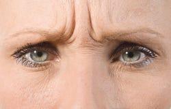 Mooi vrouwelijk oog stock afbeeldingen