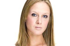 Mooi vrouwengezicht stock fotografie