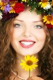 Mooi vrouwengezicht Royalty-vrije Stock Foto