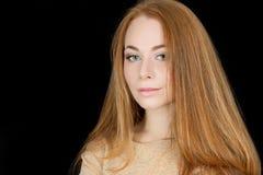 Mooi vrouwenportret royalty-vrije stock foto's
