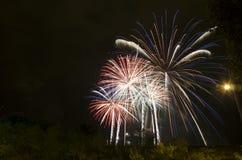 Mooi vuurwerk Stock Afbeelding