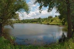 Mooi waterlandschap. Stock Fotografie