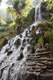 Mooi watervallandschap in Mussoorie India Royalty-vrije Stock Afbeeldingen