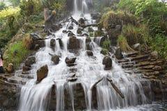 Mooi watervallandschap in Mussoorie India Stock Afbeelding