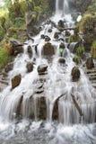 Mooi watervallandschap in Mussoorie India Royalty-vrije Stock Foto