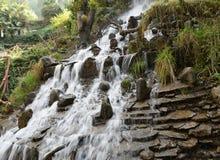 Mooi watervallandschap in Mussoorie India Royalty-vrije Stock Fotografie