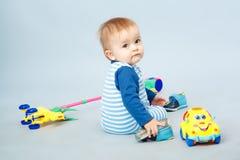 Mooi weinig baby Stock Foto