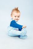 Mooi weinig baby Stock Foto's