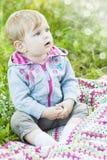 Mooi weinig babyportret Royalty-vrije Stock Afbeelding