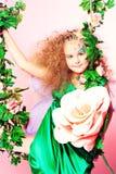 Bloemen schoonheid Royalty-vrije Stock Foto's