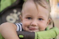 Mooi weinig jongen het glimlachen Royalty-vrije Stock Afbeelding