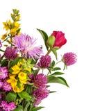 Mooi Wild Bloemenboeket royalty-vrije stock fotografie