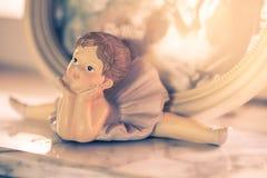 Mooi Wooman-Doll Stock Afbeelding