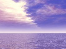 Mooi zeegezicht Stock Foto