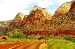 Mooi Zion National Park Stock Foto
