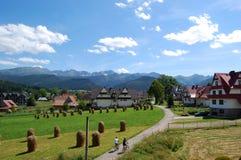 Mooi zonnig berglandschap in de vakantie de dag Royalty-vrije Stock Fotografie