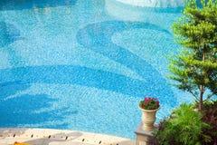 Mooi zwembad royalty-vrije stock fotografie