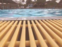 Mooi zwembad royalty-vrije stock foto's