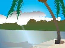 Mooie aard, de zomervakantie Royalty-vrije Illustratie