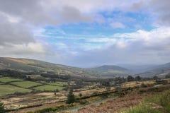 Mooie aard en landschappen van Ierland stock afbeelding