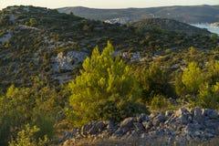 Mooie aard en landschapsfoto van Kroatië Stock Afbeeldingen