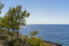 Mooie aard en landschapsfoto van Kroatië en Adriatische Overzees Royalty-vrije Stock Afbeeldingen
